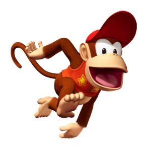 チンパンジーをモチーフにしたキャラクター1